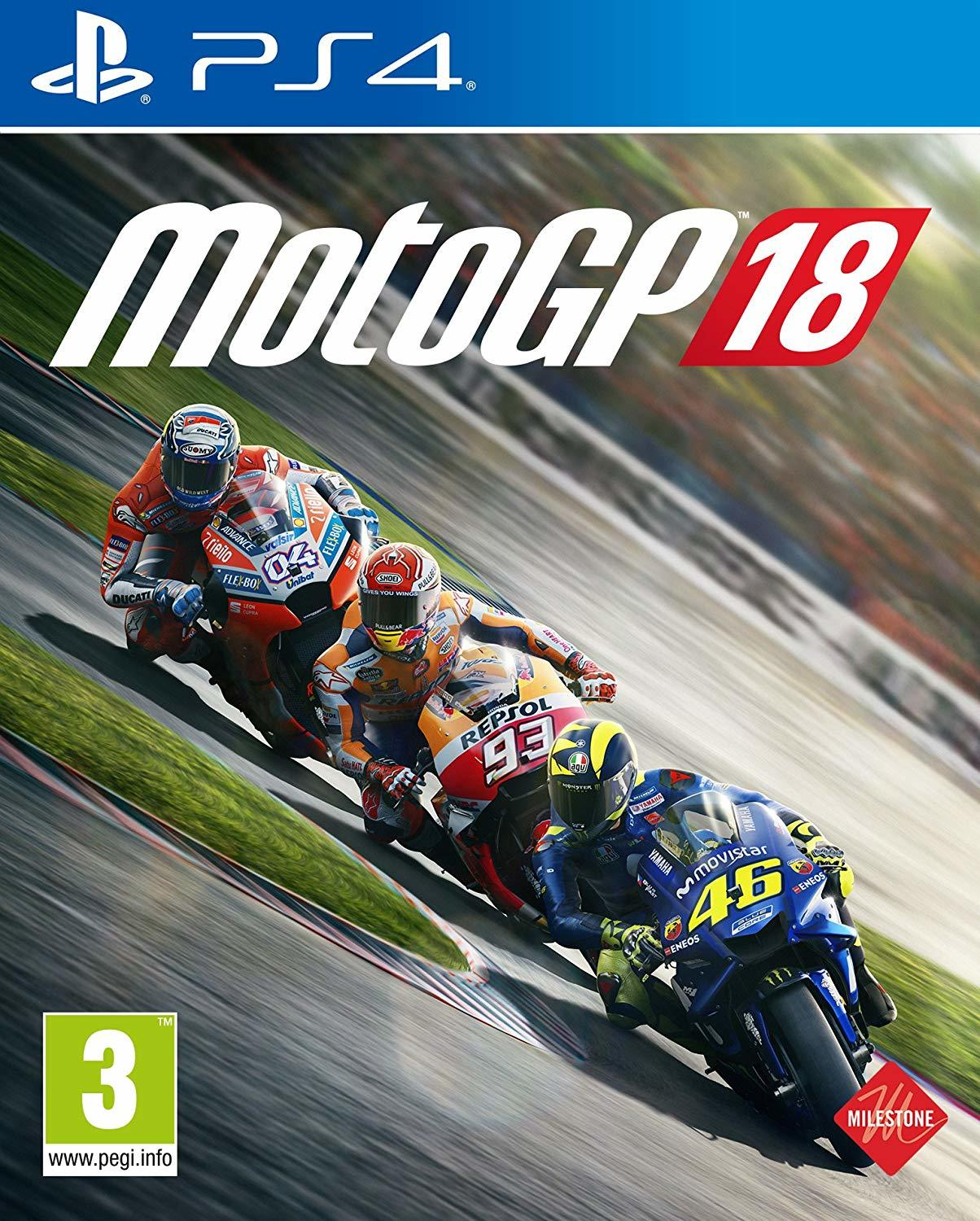 Moto GP 18 for PS4 image