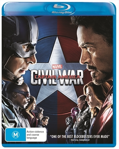 Captain America: Civil War on Blu-ray