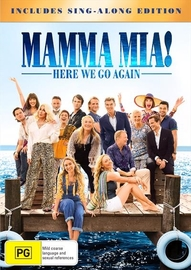Mamma Mia: Here We Go Again! on DVD