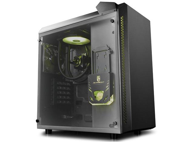 Deepcool: Baronkase Case Liquid Cooling System - Black