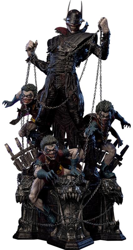 """DC Comics - Batman Who Laughs (Deluxe) - 33"""" Premium Statue"""