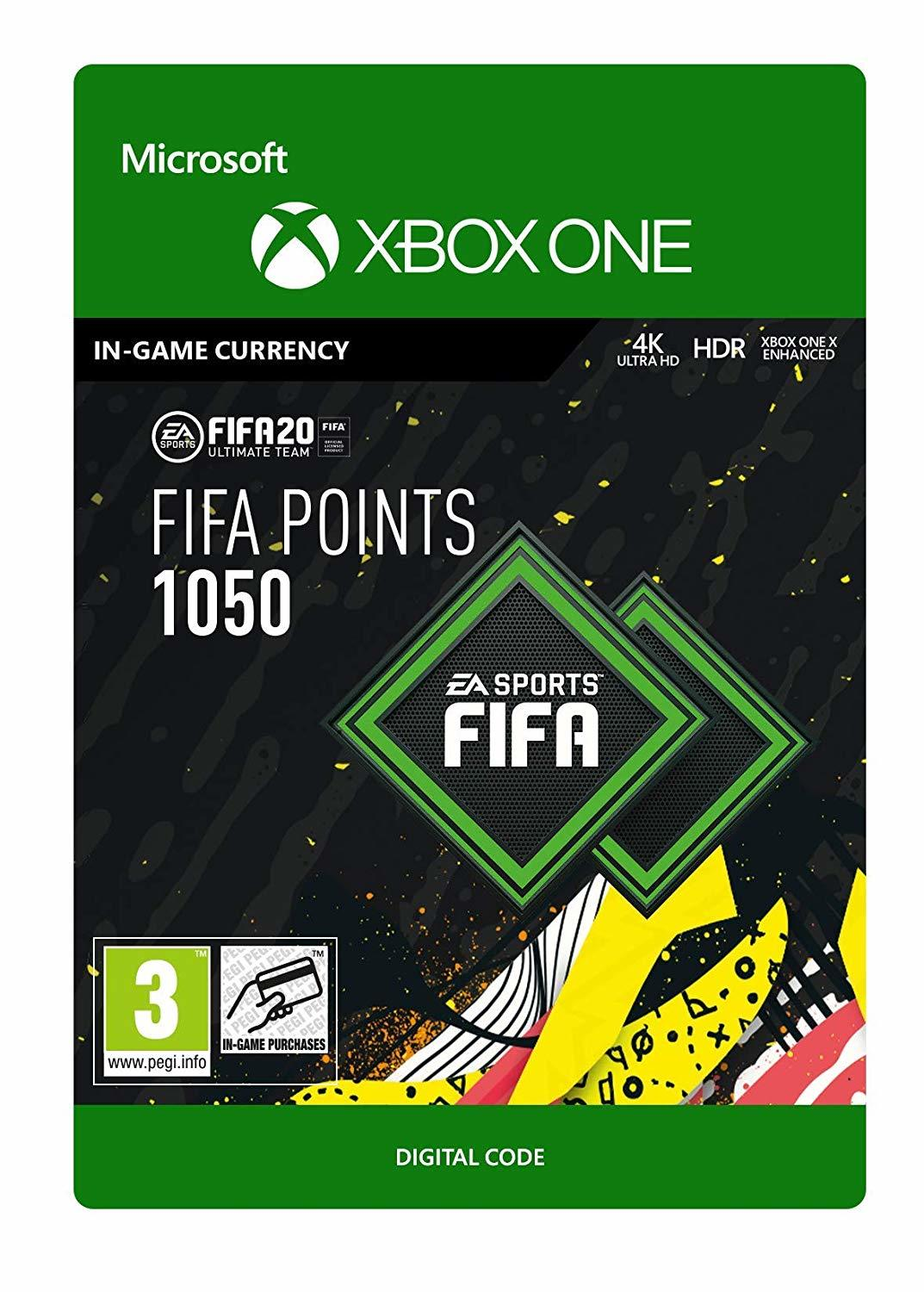 FIFA 20 Ultimate Team - 1050 FIFA Points (Digital Code) for Xbox One image