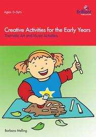 Creative Activities for the Early Years by Barbara Melling image