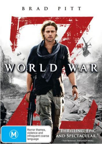World War Z on DVD