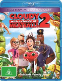Cloudy with a Chance of Meatballs 2 on Blu-ray, UV