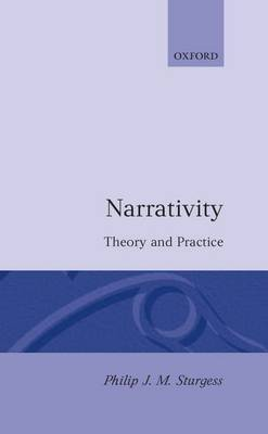 Narrativity: Theory and Practice by Philip J.M. Sturgess image