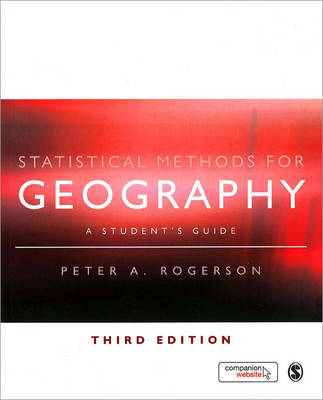 Statistical Methods for Geography: A Student's Guide image