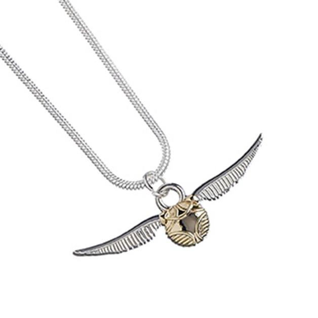 Harry Potter: Pendant & Necklace - The Golden Snitch