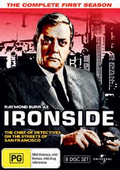 Ironside - Season 1: Fatpack Version (8 Disc Set) on DVD image