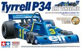 Tamiya: 1/12 Tyrrell P34 Six Wheeler - w/Photo Etched Parts Model Kit