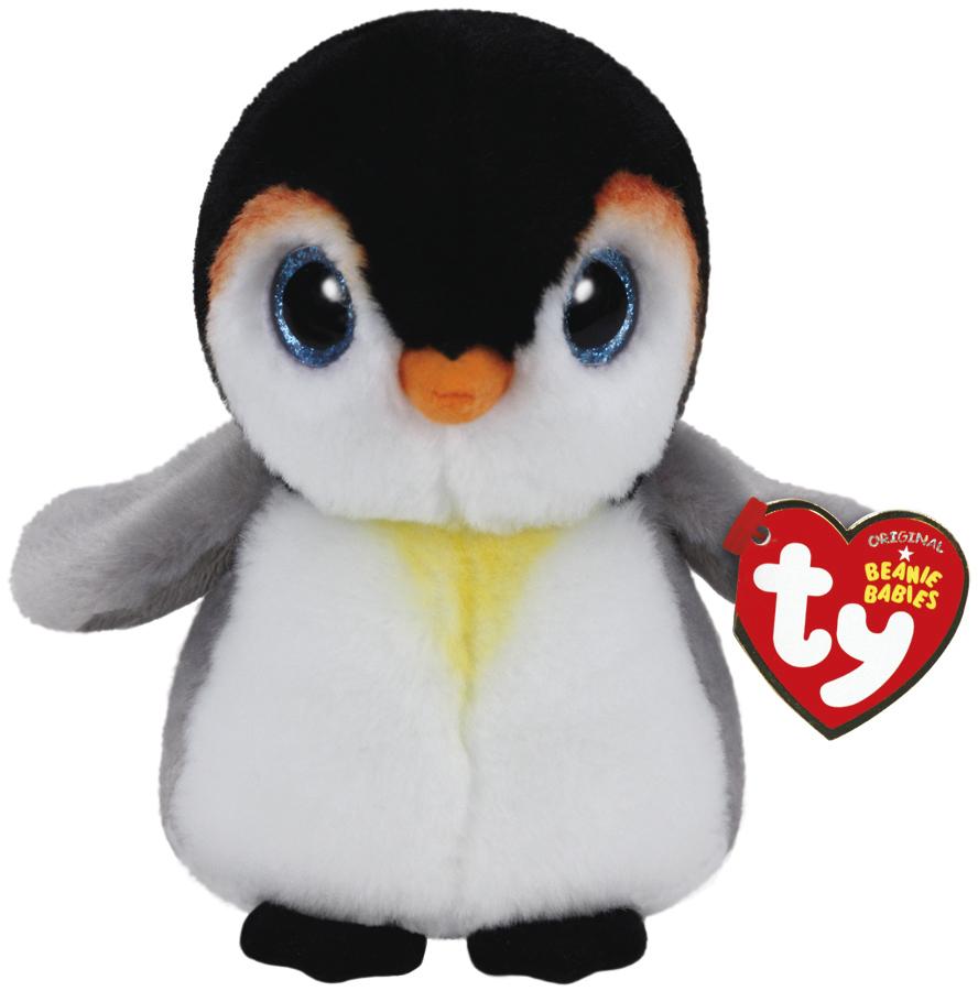 Ty Beanie Babies: Pongo Penguin - Small Plush image