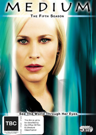 Medium - Complete Season 5 (5 Disc Set) on DVD