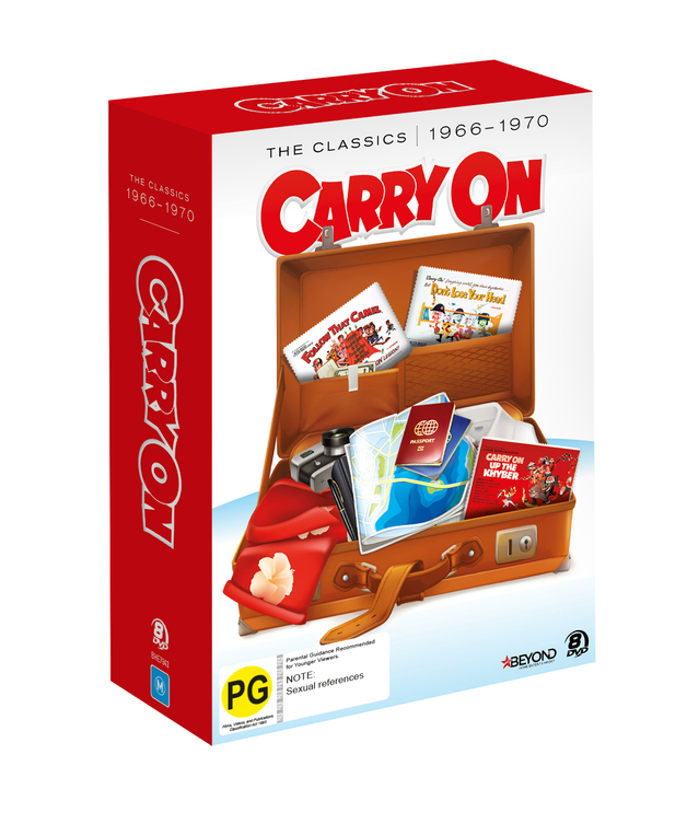 Carry On The Classics 1966-1970 on DVD