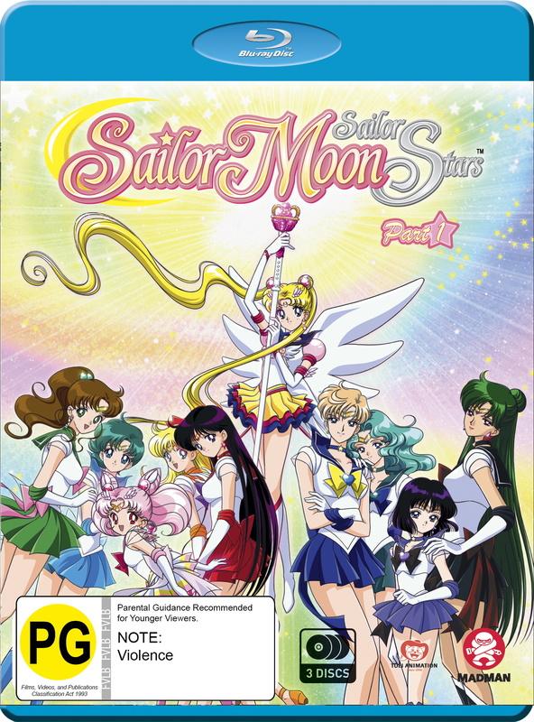Sailor Moon: Sailor Stars - Season 5 /Part 1 - (Eps 167-183) on Blu-ray