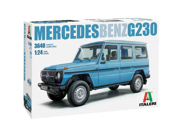 Italeri: 1/24 Mercedes Benz G230 - Model Kit
