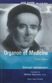 Organon of Medicine by Samuel Hahnemann image