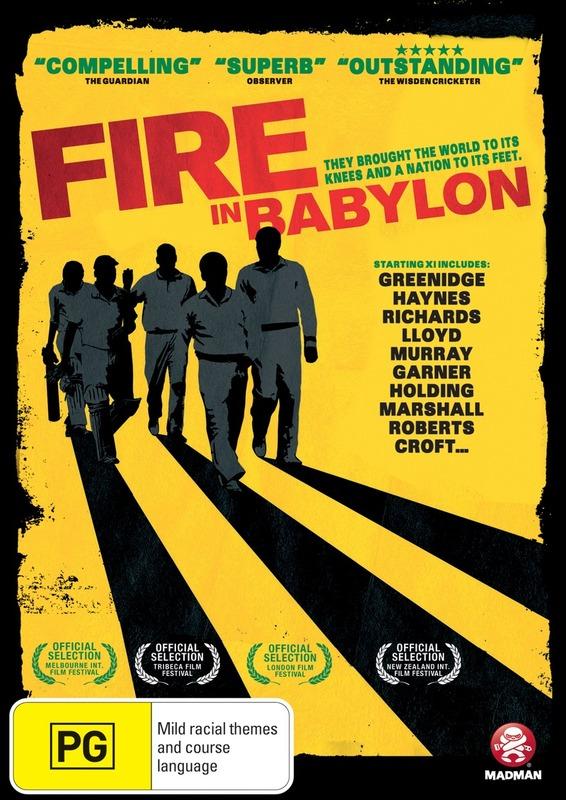 Fire in Babylon on DVD