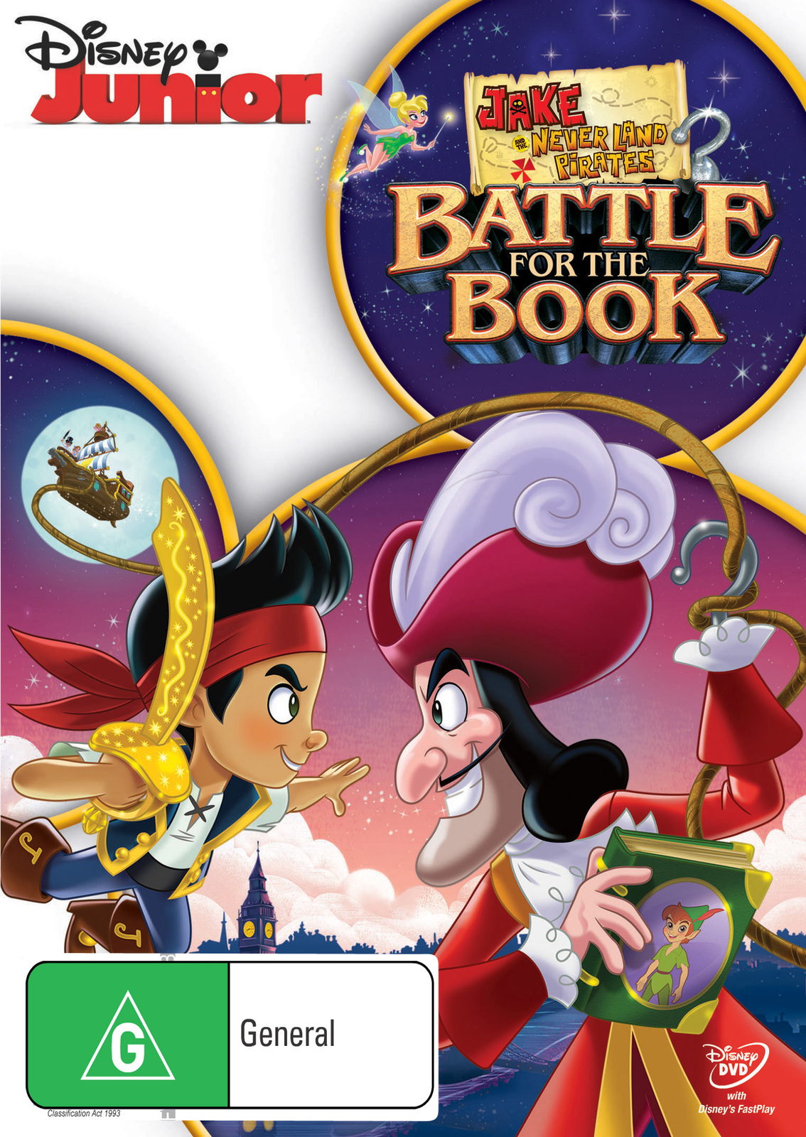 Jake and the Never Land Pirates: Battle for the Book on DVD image