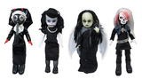 Living Dead Dolls Resurrection 7 Variant Figure Set (4 Dolls)