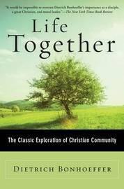 Life Together by Dietrich Bonhoeffer image
