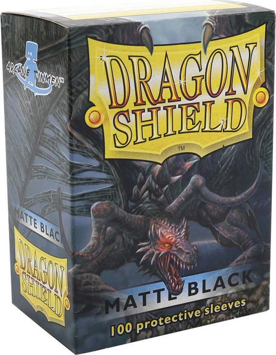 Dragon Shield Matte Black Card Sleeves