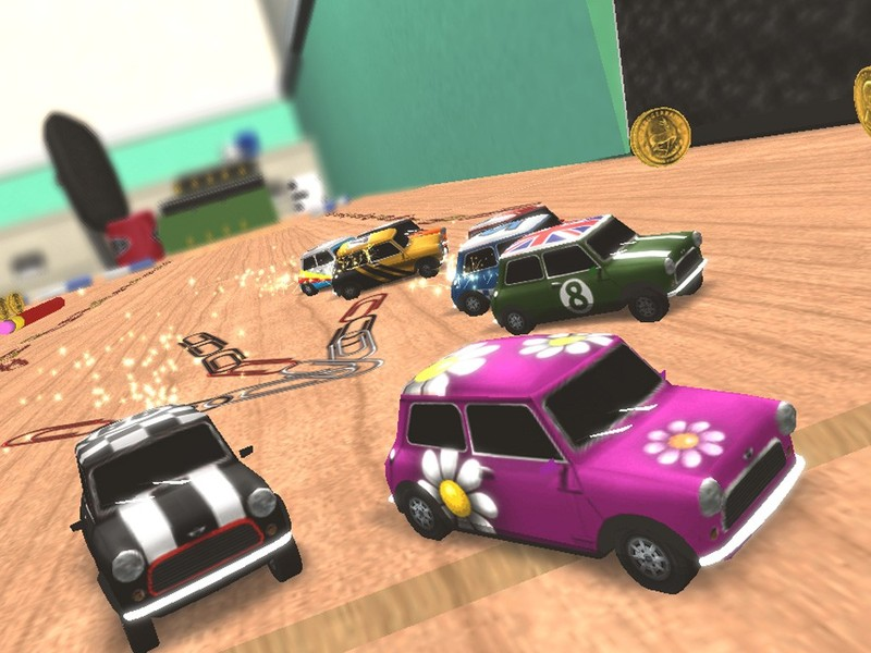 Mini Desktop Racing for Nintendo Wii image