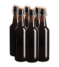Mad Millie: Flip Top Glass Home Brew Bottles