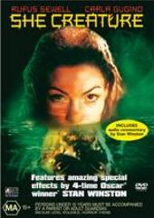 She Creature on DVD