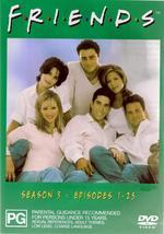 Friends - Season 3 on DVD