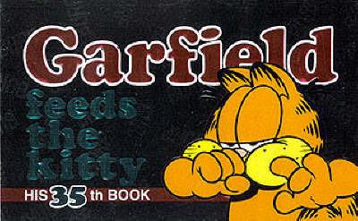 Garfield Feeds the Kitty by Jim Davis
