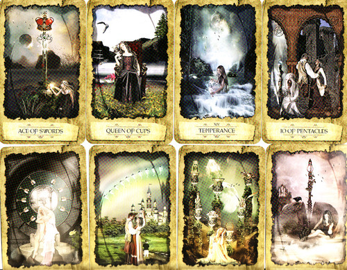Mystic Dreamer Tarot (Cards & Book) by Barbara Moore image