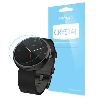 Spigen Crystal Screen Protector for Moto 360 (3 Pack)