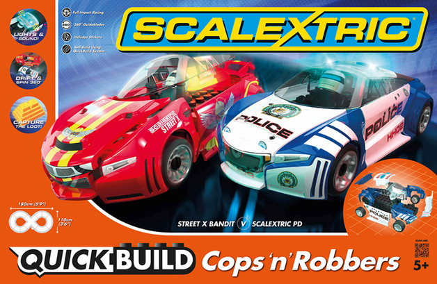 Scalextric Quick Build Cops 'n' Robbers Set