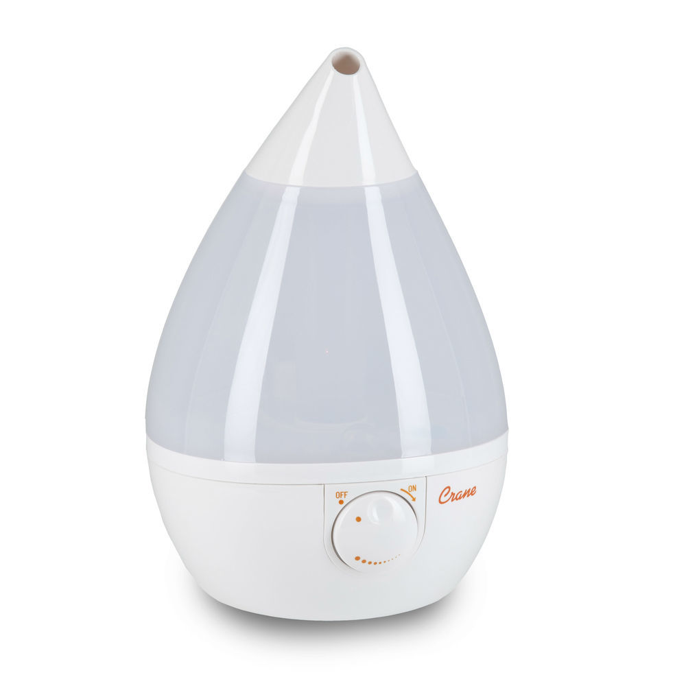 Crane Ultrasonic Humidifier - Drop White image