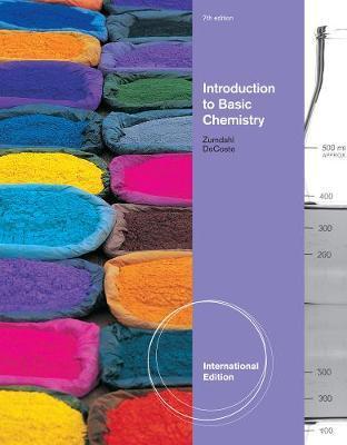 Introduction to Basic Chemistry, International Edition by Steven Zumdahl