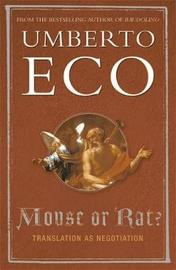 Mouse or Rat? by Umberto Eco image