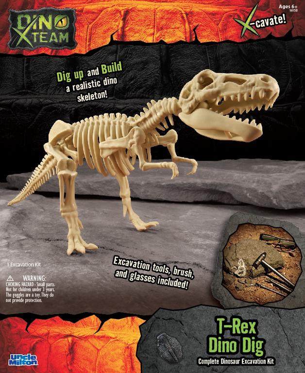 Smithsonian: X-Team Dino Digs - T-rex