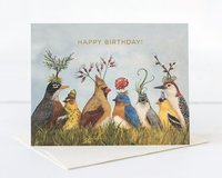 Hester & Cook: Angie's Party Gold Foil - Greeting Card image
