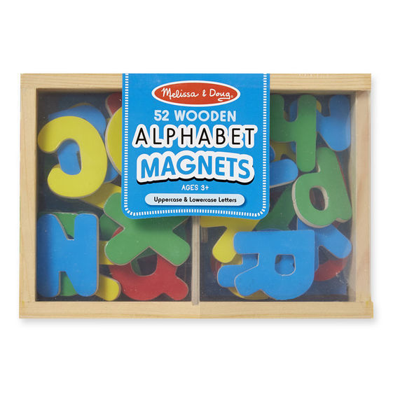 Melissa & Doug: Magnetic Wooden Alphabet