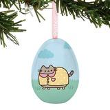 Pusheen: Tin Egg Ornament - Rainy Day
