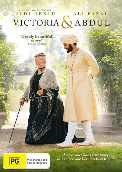 Victoria & Abdul on DVD image
