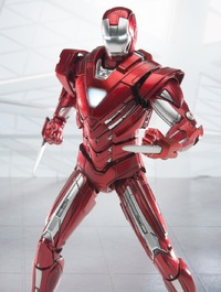 Marvel: Iron Man - Mark 33 (Silver Centurion) - 1:12 Scale Omni Class Figure
