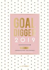 Alice Scott: Goal Digger A3 2019 Wall Calendar