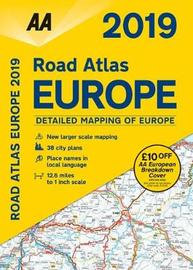 AA Road Atlas Europe 2019 by AA Publishing
