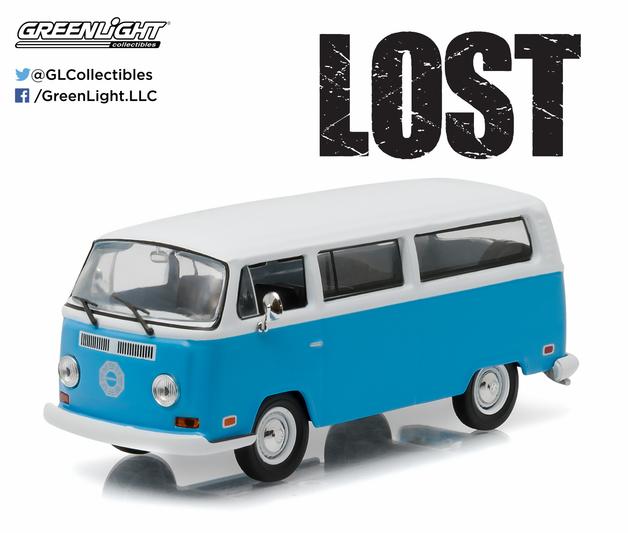 """1/43: Volkswagen Type 2 """"Dharma"""" Van - Diecast Model"""