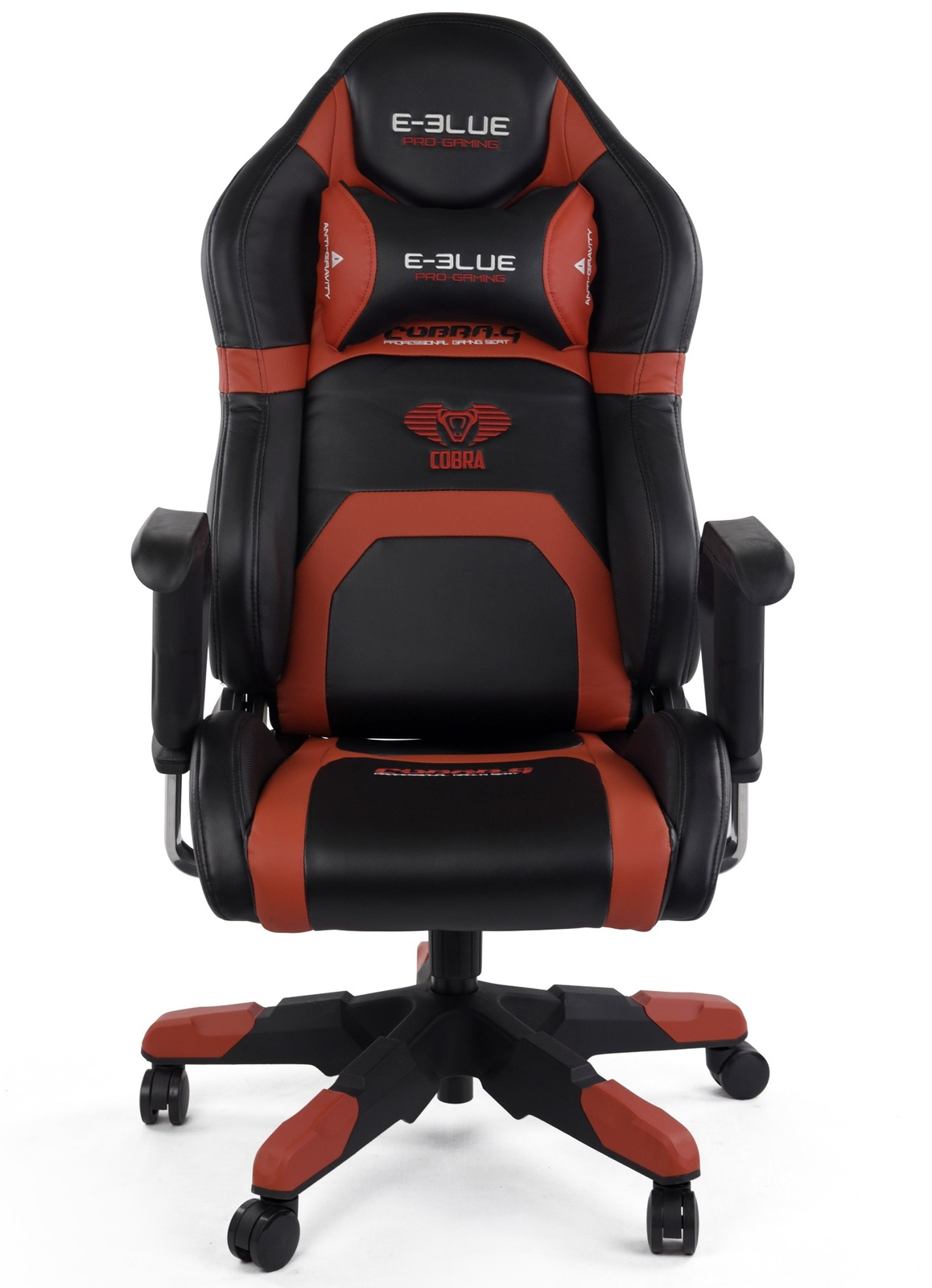 E-Blue Cobra Racing Gaming Chair (Red) for  image