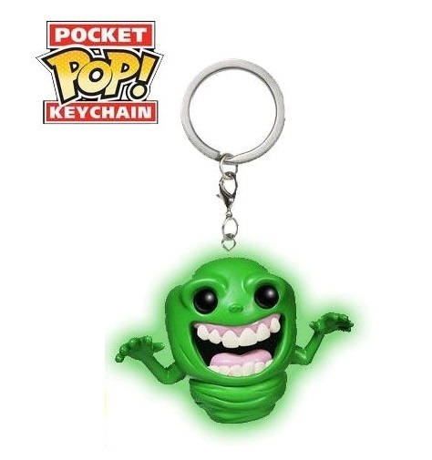 Ghostbusters: Slimer (Glow) - Pocket Pop! Key Chain