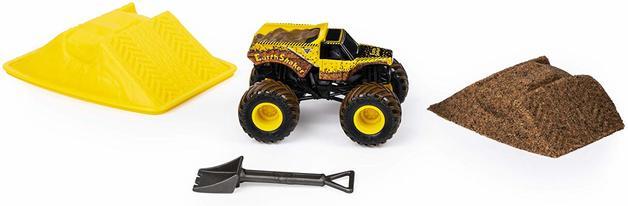 Monster Jam: Kinetic Dirt Starter Set - Earth Shaker