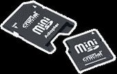 Crucial miniSD Card 512MB