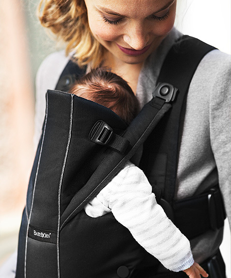 1ddf1d92854 Buy Baby Bjorn Baby Carrier Miracle - Black Purple at Mighty Ape NZ